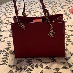 Michael Kors purse - perfect fall color